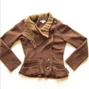 Anthro Gro Abrahamsson Best Of The Bunch Cardigan